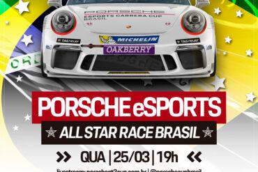 eSports   Porsche Cup e Porsche Brasil promoverá a Corrida das Estrelas