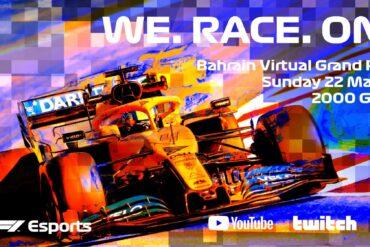 Fórmula 1 eSports Series substituirá os GPs cancelados pelo Covid-19