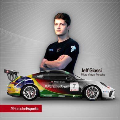 Jeff Giassi   Confira a entrevista com o piloto oficial Porsche eSports