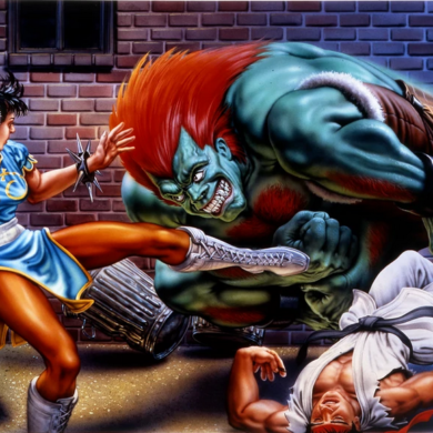 Street Fighter 2 | Capcom quase deu a luz a Street Fighter '89