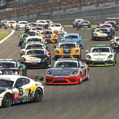 Porsche Esports | Eraldo Silva e Marcos Riffel vencem em Nurburgring