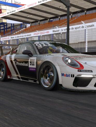 A próxima etapa do Porsche eSports Carrera Cup será em Le Mans