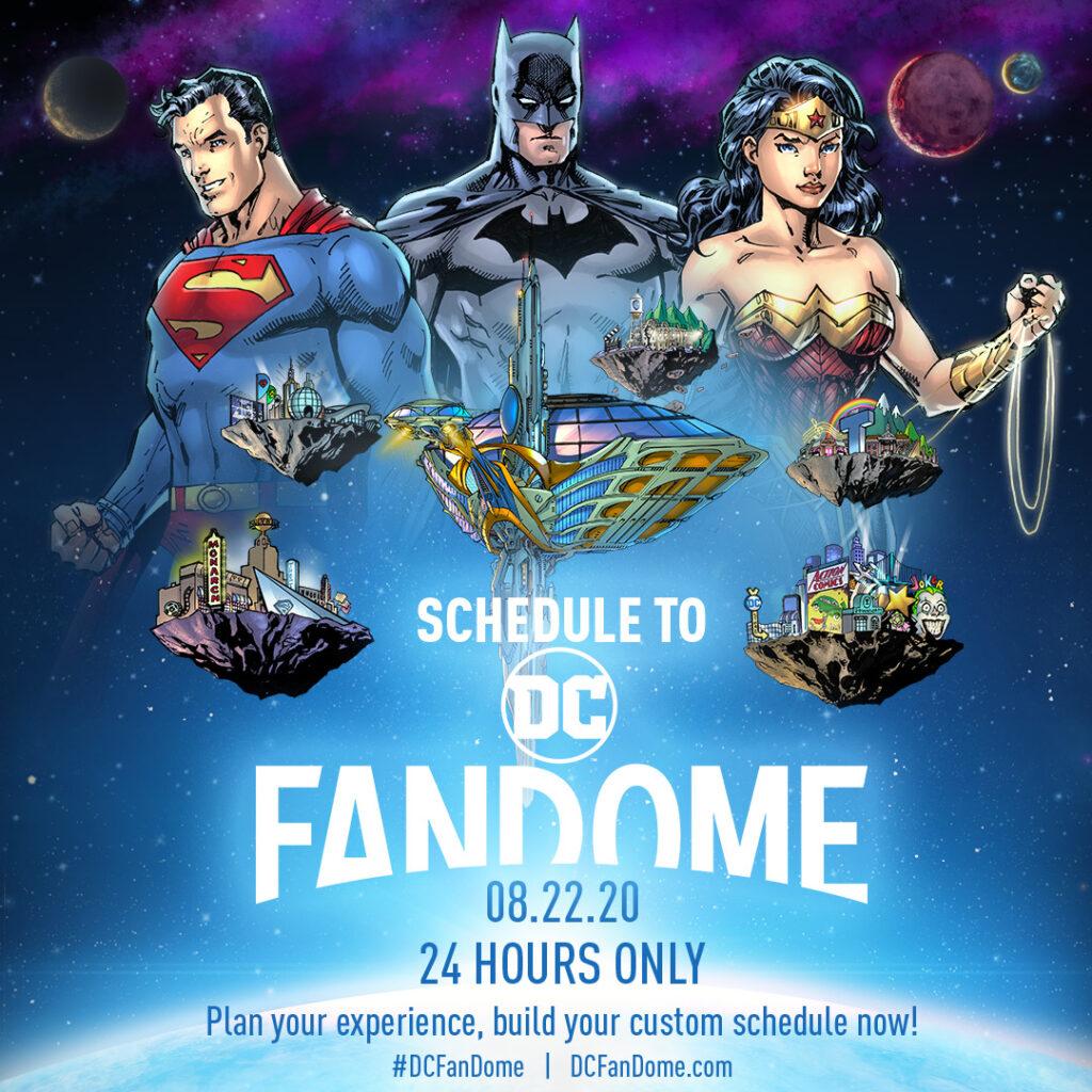 DC FanDome | Confira os principais painéis e a programação do evento