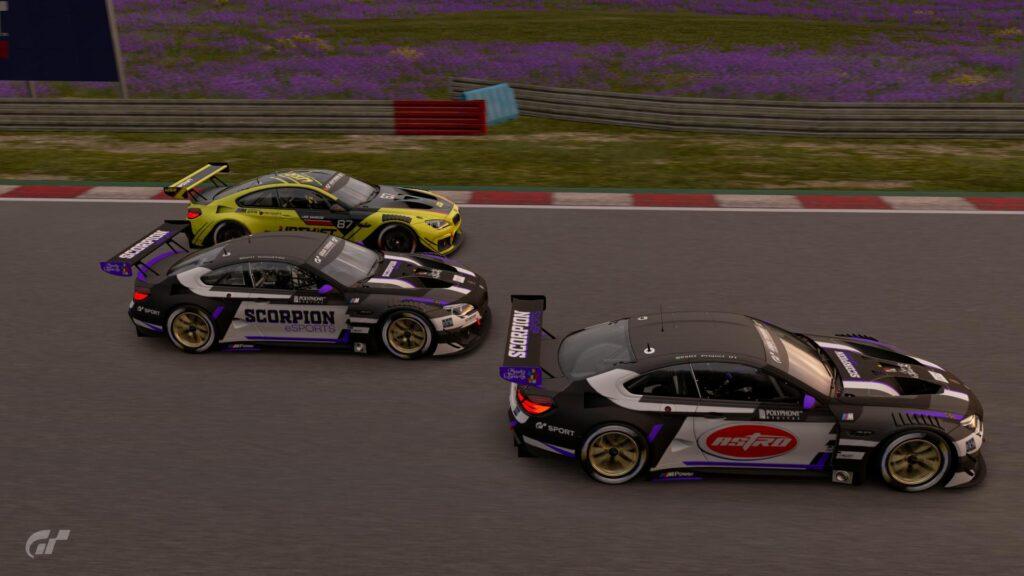 Gran Turismo Sport - ApexGt eSports quarta etapa da Divisão Pro 1. Scorpion e Upshift disputando a vitória em St.Croix