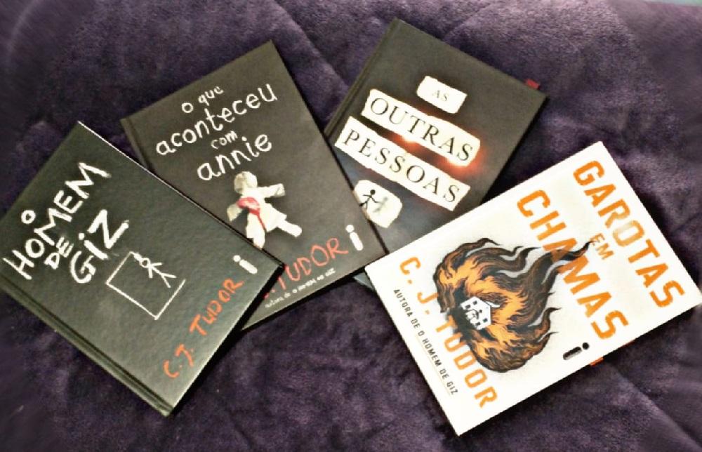 """""""Garotas em Chamas""""   Saiba mais sobre o novo livro de C. J. Tudor"""