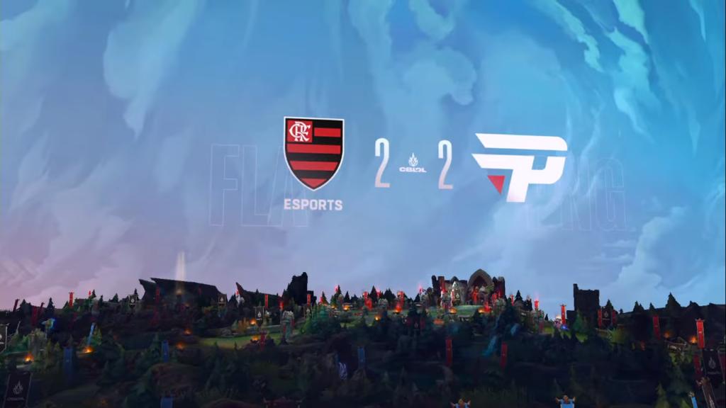 Flamengo e paiN empatam em 2 a 2 na série e vão para o mata-mata