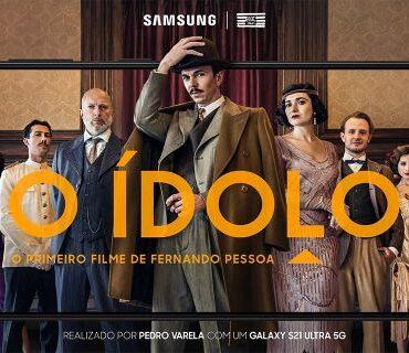 Samsung | Curta ' O Ídolo' é gravado com Galaxy S21 Ultra 5G