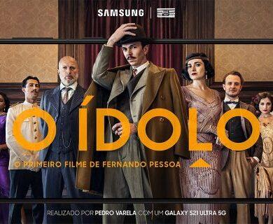 Samsung   Curta ' O Ídolo' é gravado com Galaxy S21 Ultra 5G