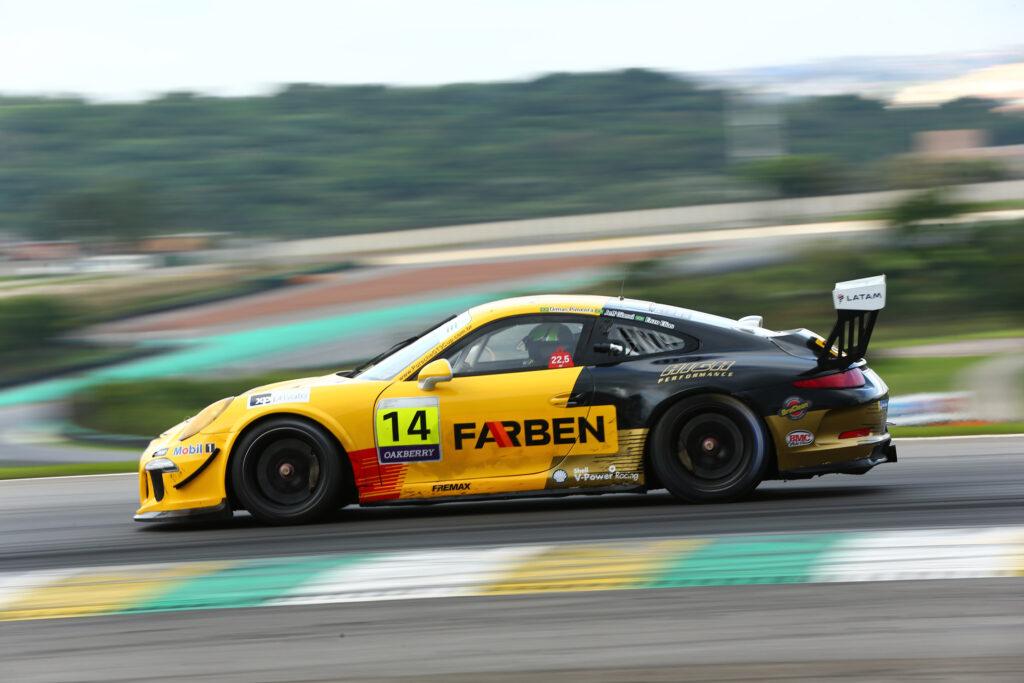 A Farben, patrocinadora máster do carro #73 vai disputar o campeonato completo da Porsche XP Private Endurance Series com Enzo Elias e Jeff Giassi.
